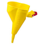 11202Y – Polypropylene Funnel for Type I steel Safety Cans sizes 4L and above only