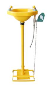 pedestal eyewash station