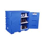 SDCORPE –  83L Polyethylene Corrosive Cabinet (Self-Closing)