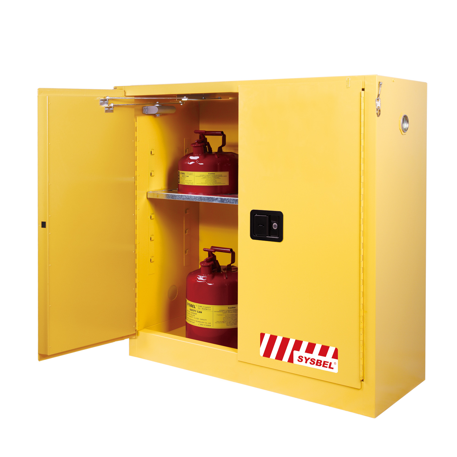 SD30114F U2013 114L SYSBEL Flammable Cabinet (Self Closing)