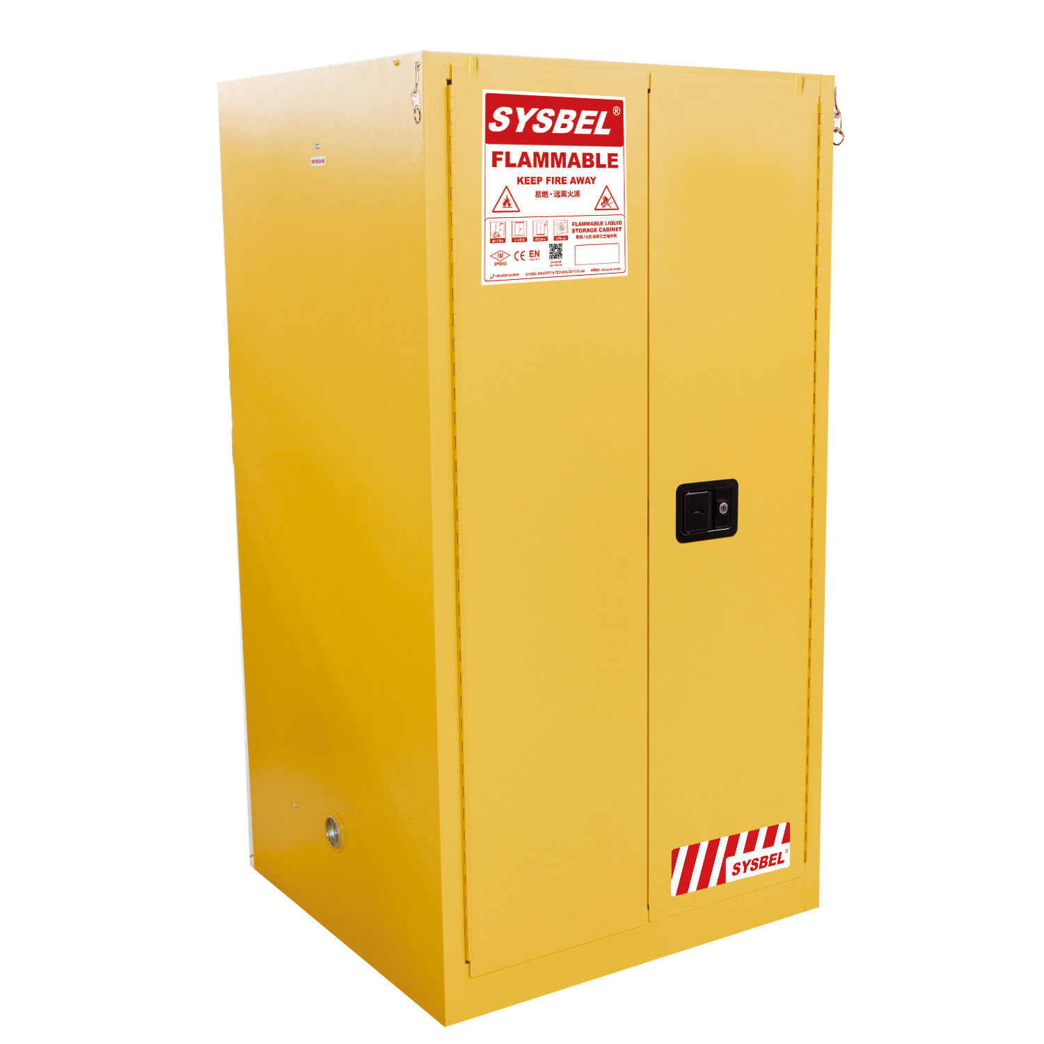 Wonderful SD60227F U2013 227L SYSBEL Flammable Cabinet (Self Closing)