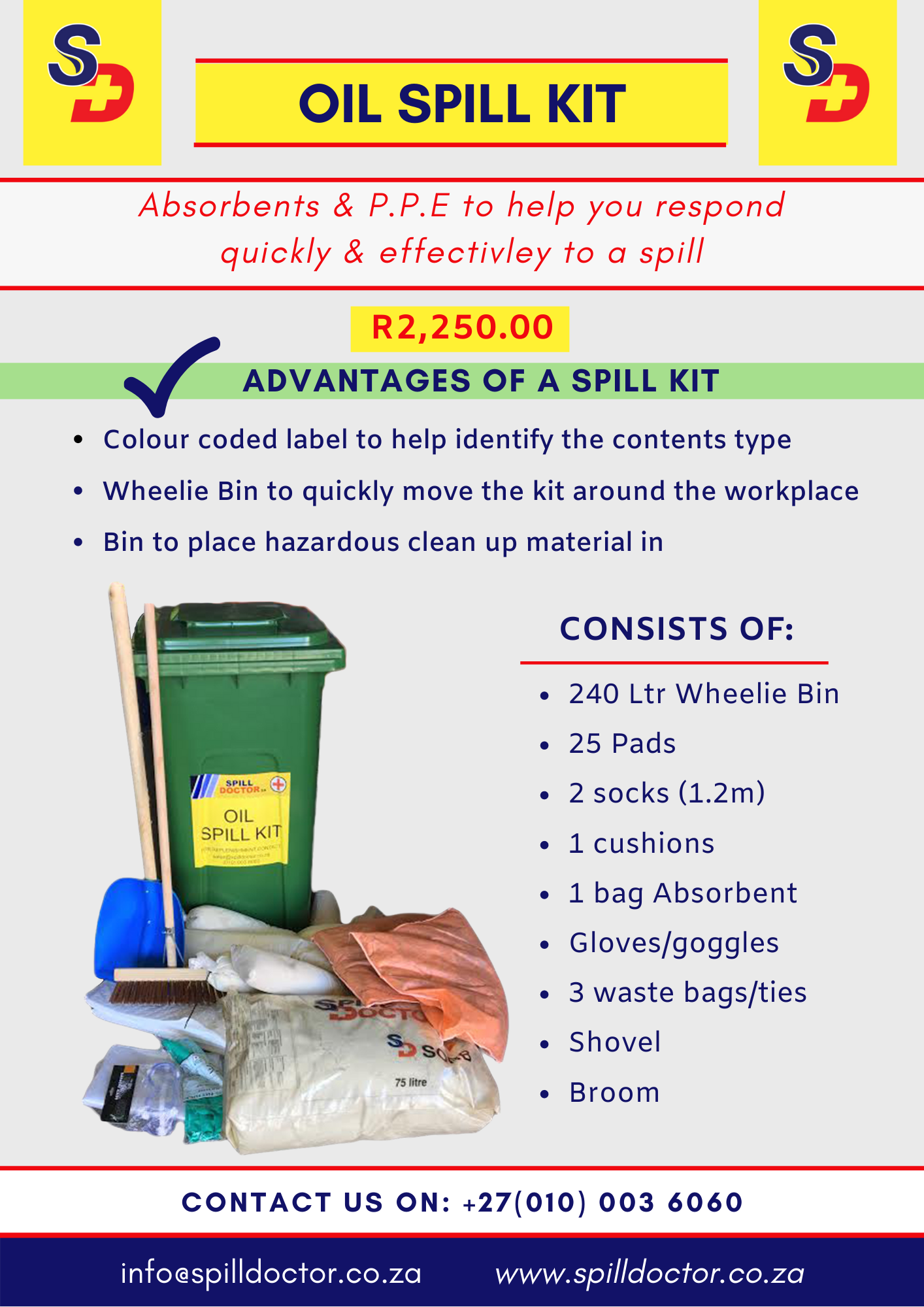 Advantages of Oil Spill Kits