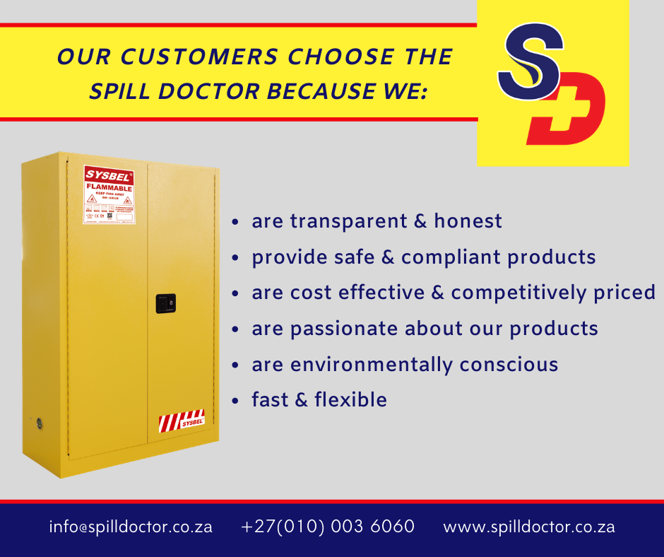 Why our customers choose Spill Doctor!